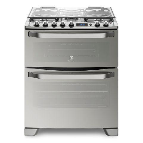 Cocina-A-Gas-Doble-Horno-Electrolux-76xdr-frontal