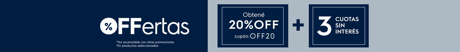OFFertas 20% - HELADERAS