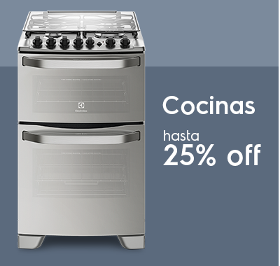 Cocinas - 25% OFF