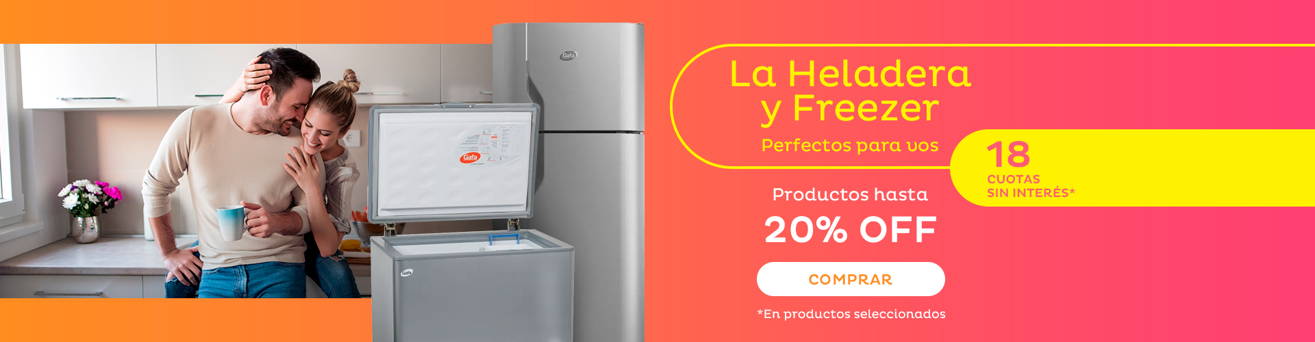 Banner TV Heladera y Freezer Perfectos