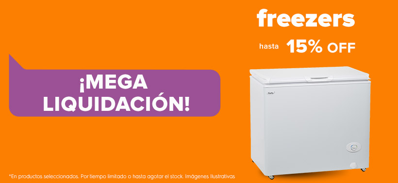 Freezer 15%